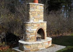 Stone Outdoor Grill