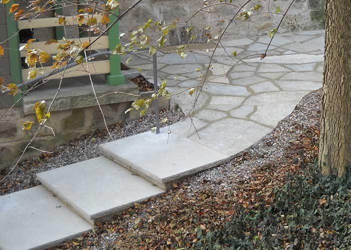 Custom Stone Path. Custom Steps. Steps