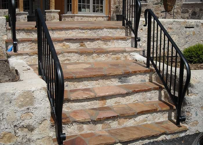 Custom Steps. Custom Stone Path