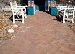 Custom Brick Patio