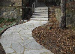 Custom Stone Path