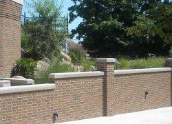 Custom Stone Wall