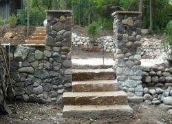 Custom Stone Pillar
